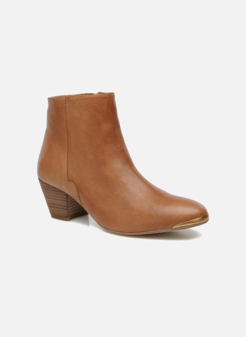 Ankle boots Jonak Doddy Brown detailed view/ Pair view