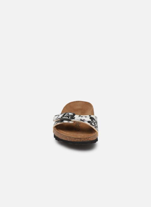 Mules et sabots Papillio Madrid Flor W Blanc vue portées chaussures