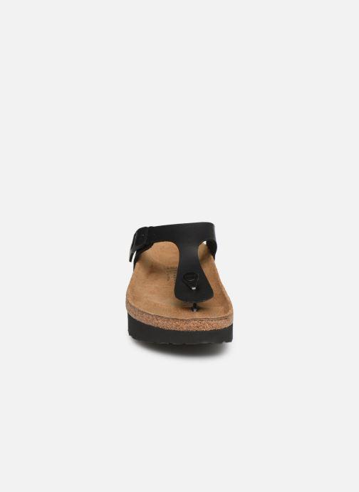 Mules et sabots Papillio Gizeh BirkoFlor Noir vue portées chaussures