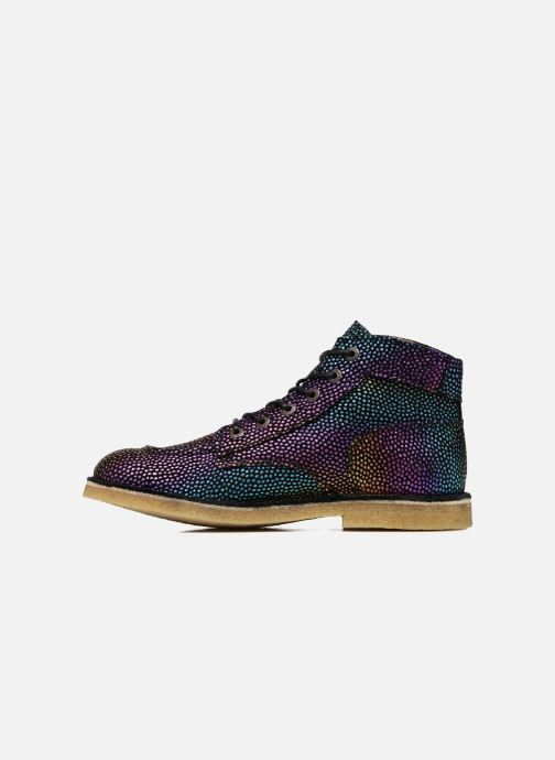 Zapatos con cordones Kickers Kick Legend Multicolor vista de frente