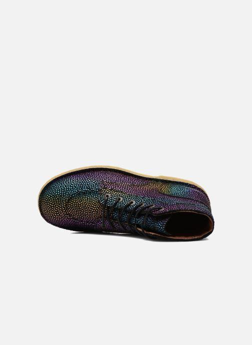Zapatos con cordones Kickers Kick Legend Multicolor vista lateral izquierda
