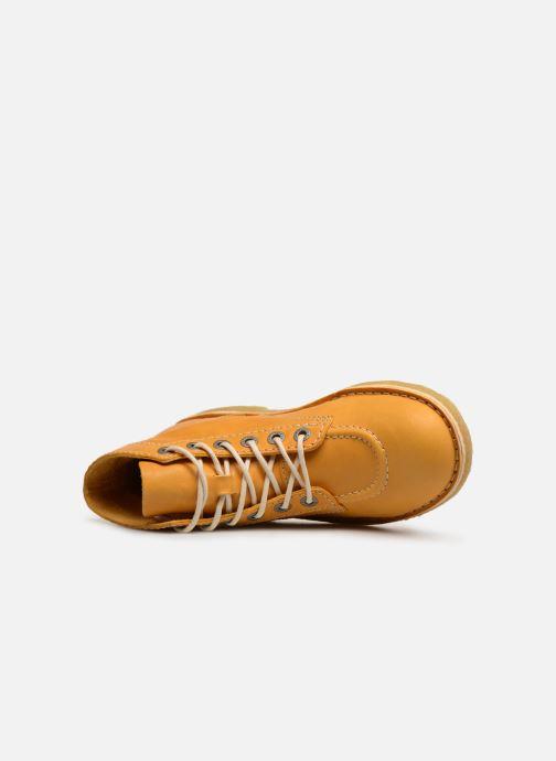 Chaussures à lacets Kickers Kick Legend Jaune vue gauche