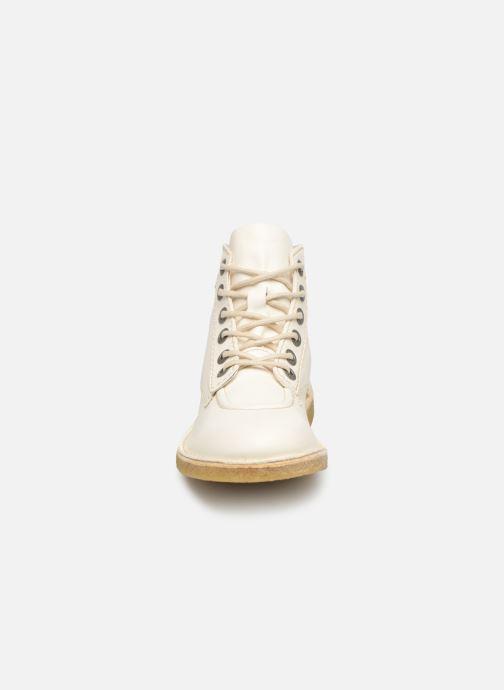 Chaussures à lacets Kickers Kick Legend Blanc vue portées chaussures
