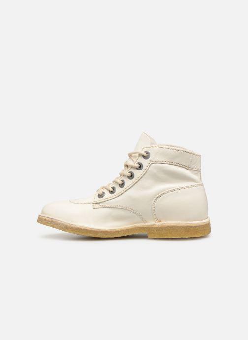 Zapatos con cordones Kickers Kick Legend Blanco vista de frente