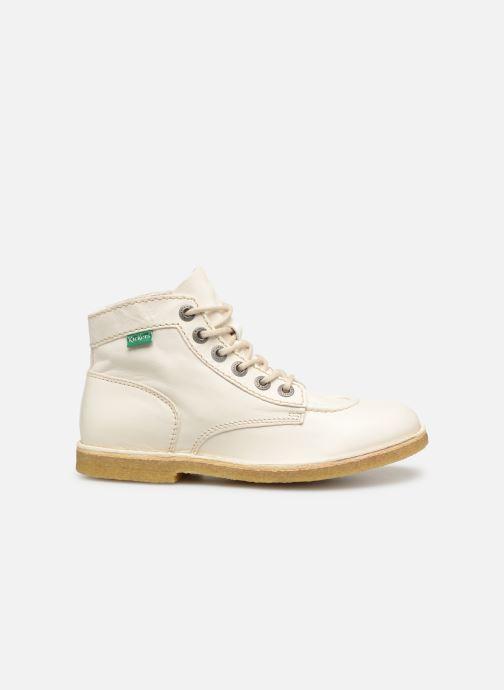 Zapatos con cordones Kickers Kick Legend Blanco vistra trasera