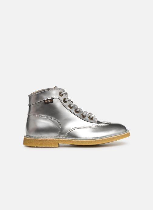 Zapatos con cordones Kickers Kick Legend W Plateado vistra trasera