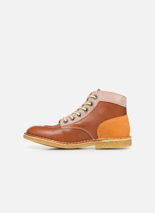Chaussures à lacets Kickers Kick Legend Marron vue face