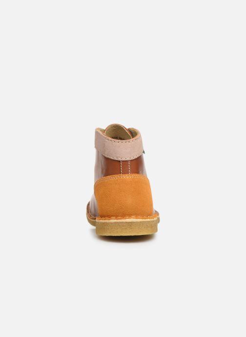 Chaussures à lacets Kickers Kick Legend Marron vue droite