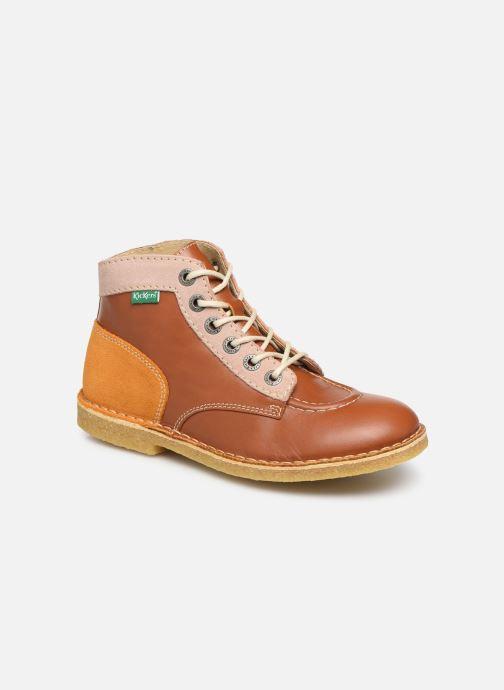 Chaussures à lacets Kickers Kick Legend Marron vue détail/paire
