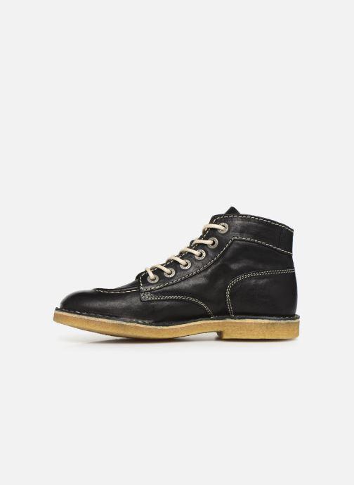 Zapatos con cordones Kickers Kick Legend Negro vista de frente