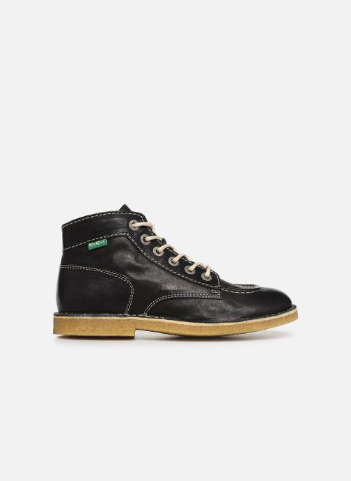 Chaussures à lacets Kickers Kick Legend Noir vue derrière