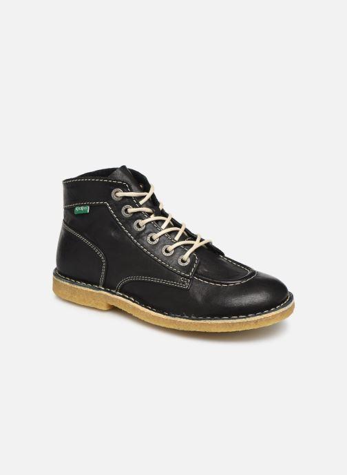 Zapatos con cordones Kickers Kick Legend Negro vista de detalle / par