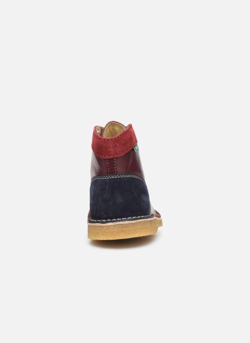 Chaussures à lacets Kickers Kick Legend Violet vue droite