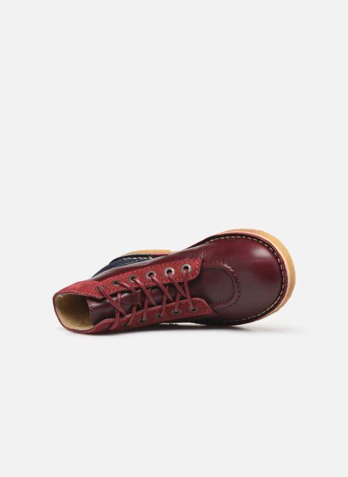 Chaussures à lacets Kickers Kick Legend Violet vue gauche