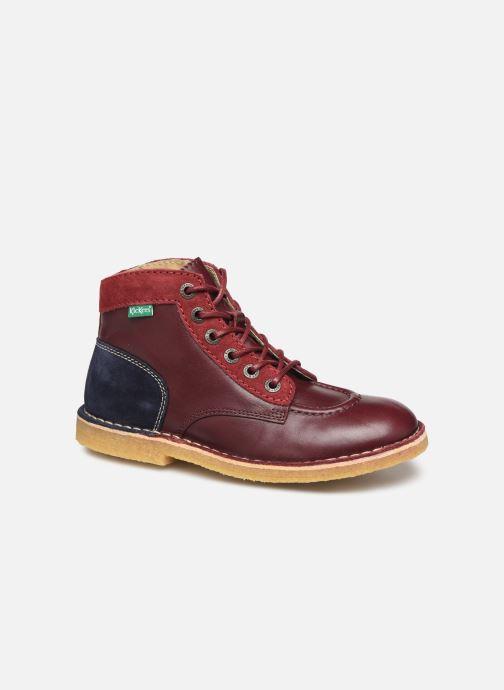 Chaussures à lacets Kickers Kick Legend Violet vue détail/paire