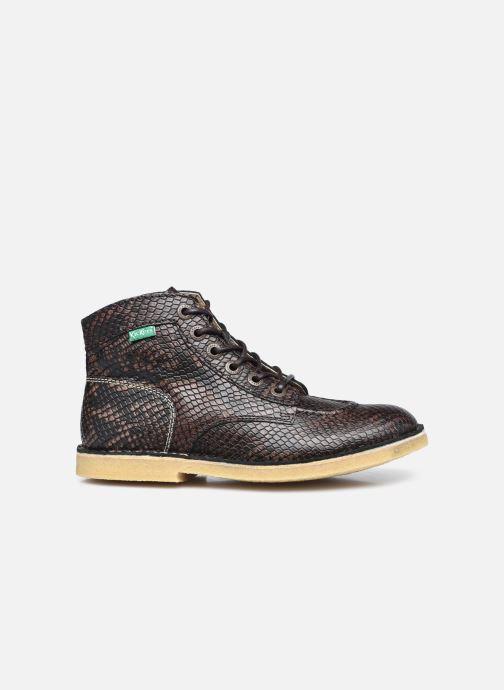 Chaussures à lacets Kickers Kick Legend W Marron vue derrière