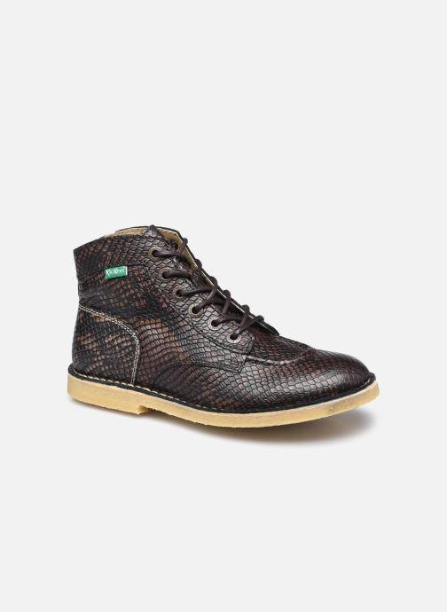 Chaussures à lacets Kickers Kick Legend W Marron vue détail/paire