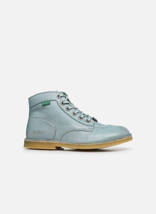 Zapatos con cordones Kickers Kick Legend Azul vistra trasera