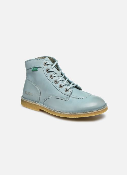 Chaussures à lacets Kickers Kick Legend Bleu vue détail/paire