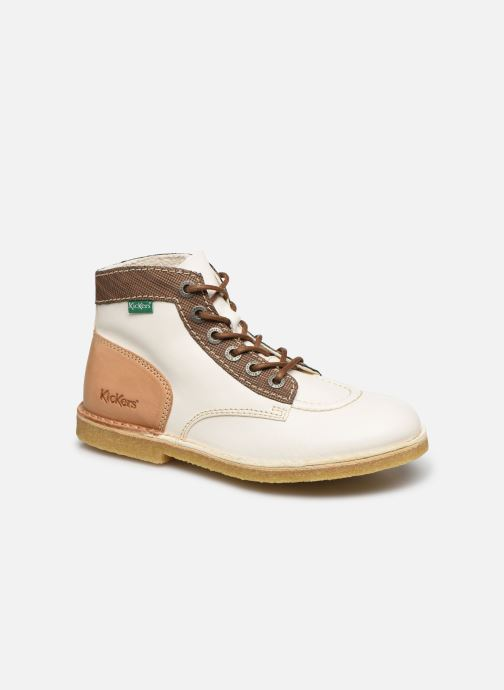 Zapatos con cordones Kickers Kick Legend W Blanco vista de detalle / par