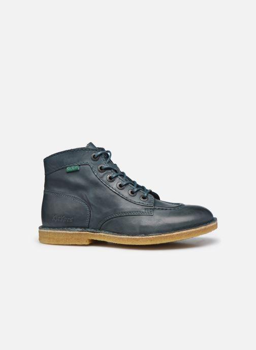 Zapatos con cordones Kickers Kick Legend W Azul vistra trasera