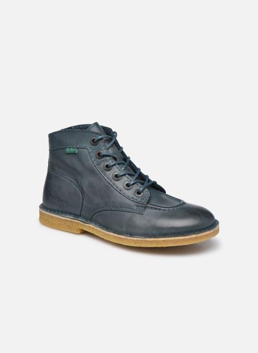 Zapatos con cordones Kickers Kick Legend W Azul vista de detalle / par