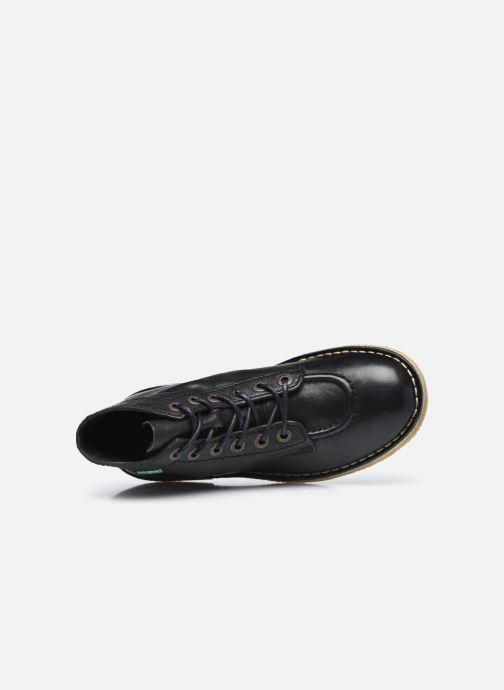 Scarpe con lacci Kickers Kick Legend W Nero immagine sinistra