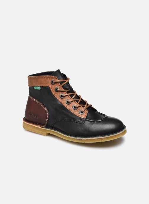 Chaussures à lacets Kickers Kick Legend W Noir vue détail/paire
