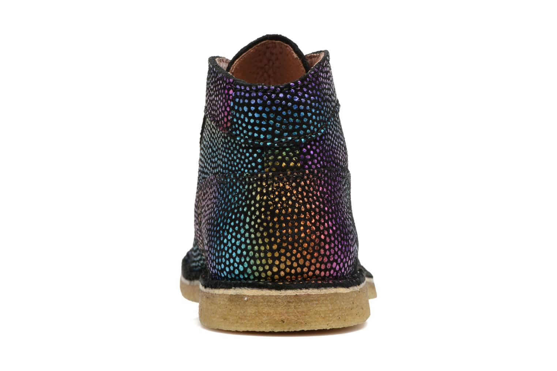 Chaussures à lacets Kickers Kick Legend Multicolore vue droite