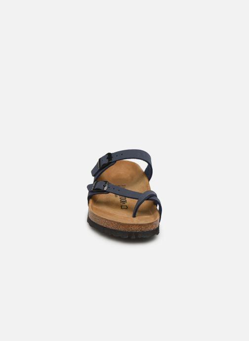 Mules et sabots Birkenstock Mayari W Bleu vue portées chaussures