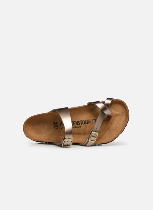 Wedges Birkenstock Mayari Goud en brons links