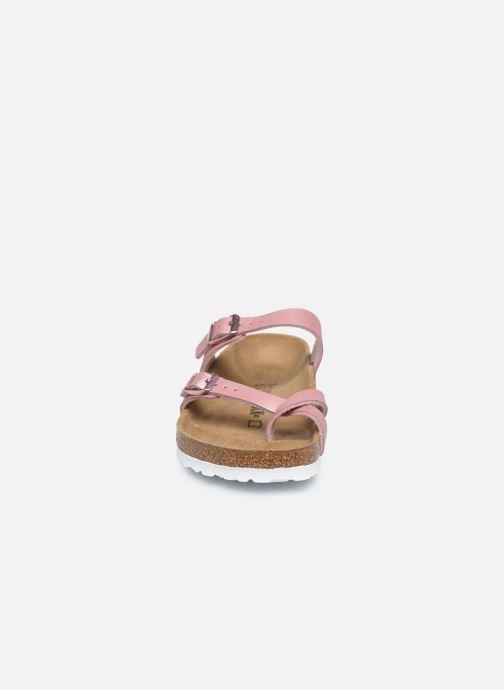 Mules et sabots Birkenstock Mayari Flor Women Rose vue portées chaussures