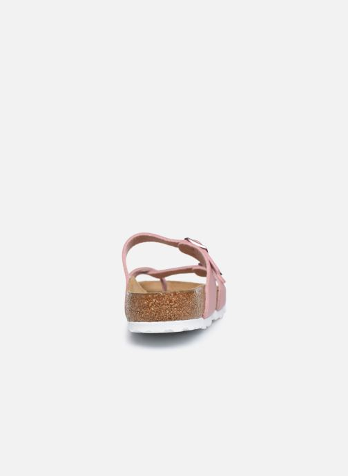 Clogs & Pantoletten Birkenstock Mayari rosa ansicht von rechts
