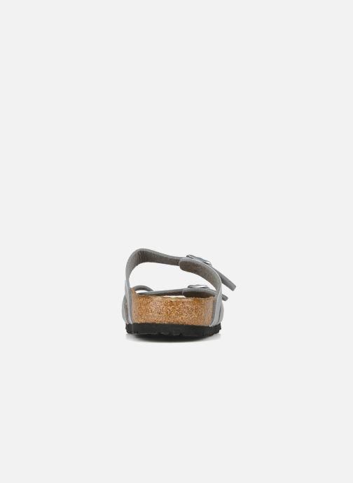 Clogs & Pantoletten Birkenstock Mayari silber ansicht von rechts