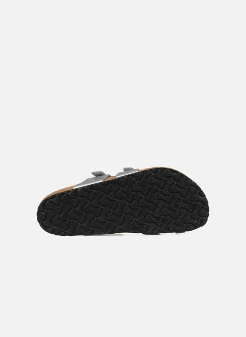 Clogs & Pantoletten Birkenstock Mayari silber ansicht von oben