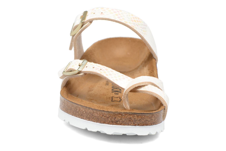 Träskor & clogs Birkenstock Mayari W Vit bild av skorna på