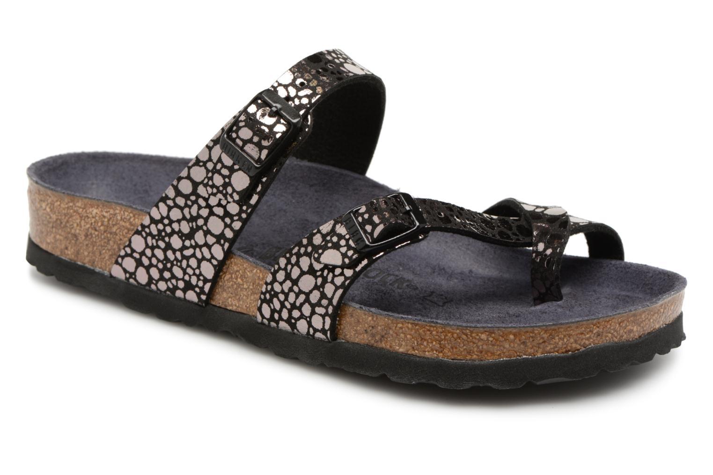 Clogs og træsko Birkenstock Mayari W Sort detaljeret billede af skoene