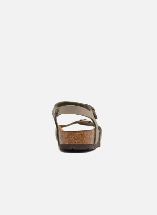 Sandales et nu-pieds Birkenstock Bali Flor W Gris vue droite