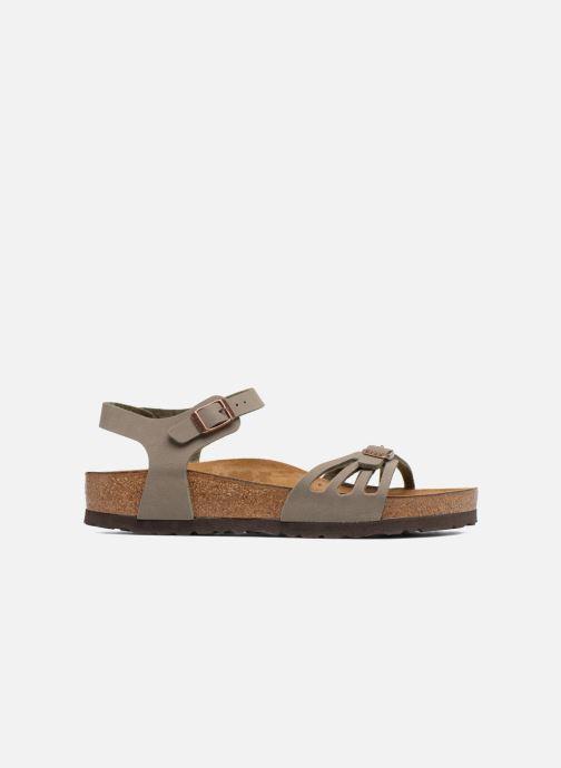 Sandales et nu-pieds Birkenstock Bali Flor W Gris vue derrière
