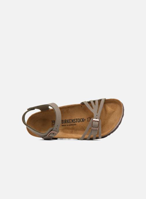 Sandales et nu-pieds Birkenstock Bali Flor W Gris vue gauche