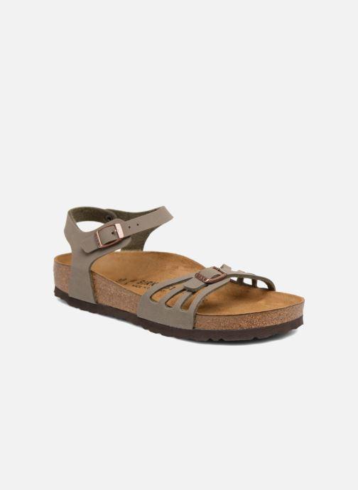 Sandales et nu-pieds Birkenstock Bali Flor W Gris vue détail/paire