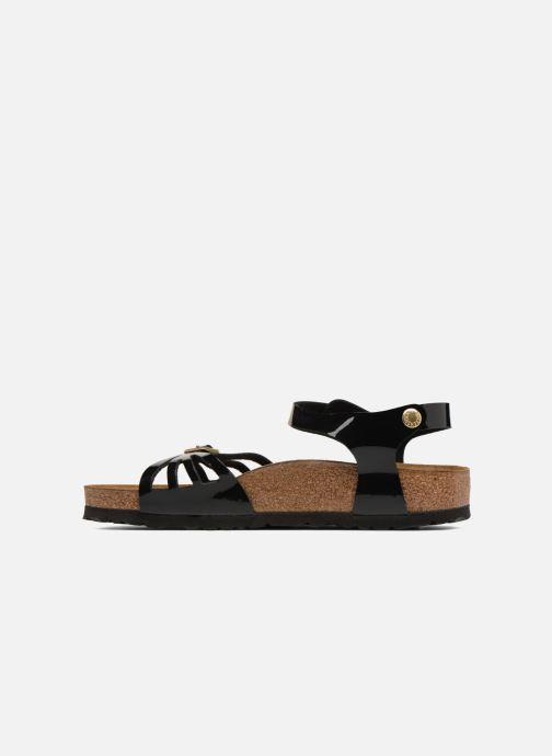 Sandali e scarpe aperte Birkenstock Bali Flor W Nero immagine frontale