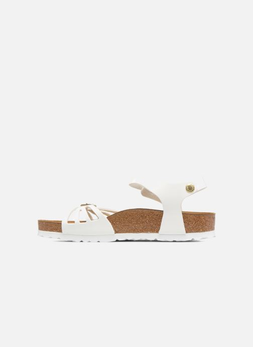 Sandales et nu-pieds Birkenstock Bali W Blanc vue face