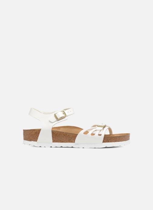 Sandales et nu-pieds Birkenstock Bali W Blanc vue derrière