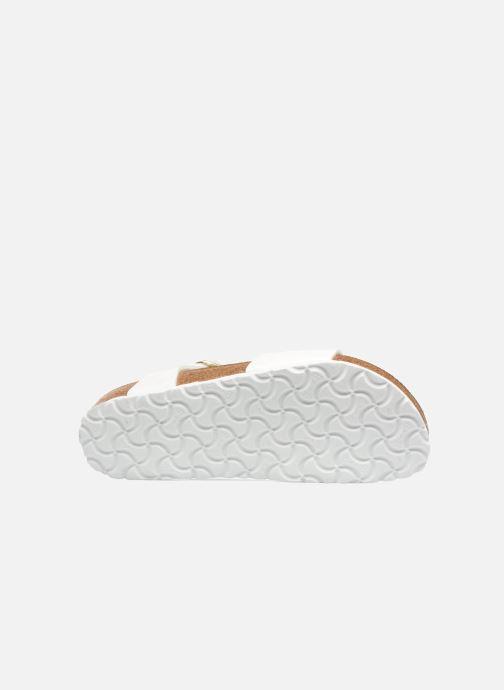 Sandales et nu-pieds Birkenstock Bali W Blanc vue haut