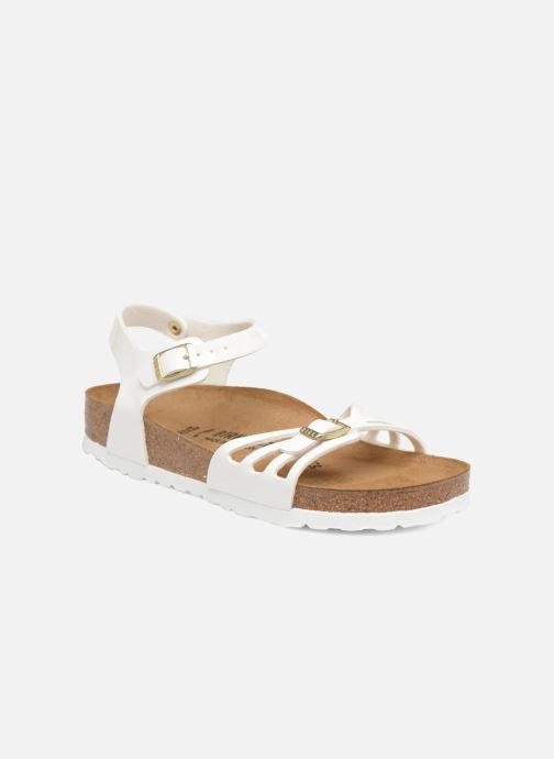 Sandales et nu-pieds Birkenstock Bali W Blanc vue détail/paire