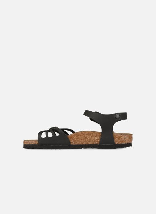 Sandales et nu-pieds Birkenstock Bali Flor W Noir vue face
