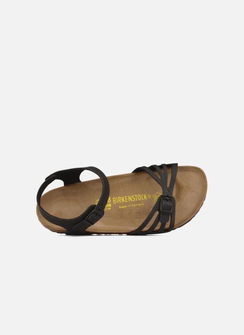 Sandales et nu-pieds Birkenstock Bali Flor W Noir vue gauche