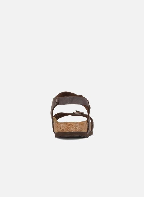 Sandals Birkenstock Bali W Brown view from the right
