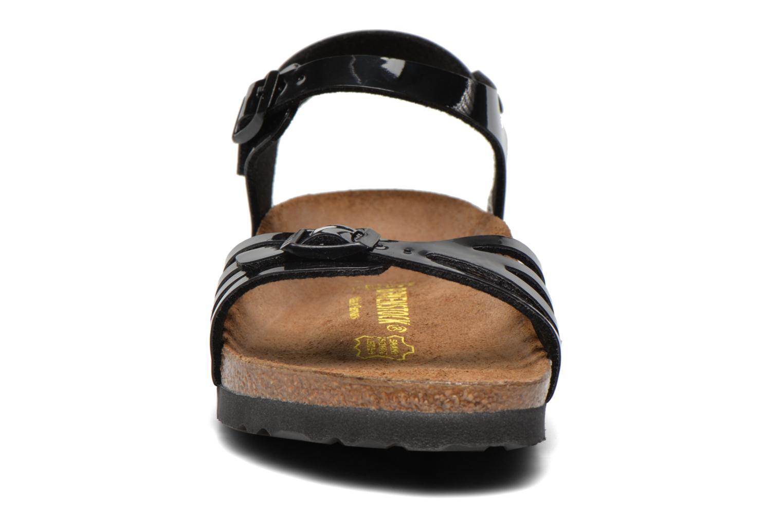 Sandales et nu-pieds Birkenstock Bali W Noir vue portées chaussures